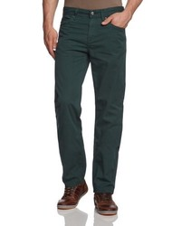 Pantalones Verde Oscuro de LERROS