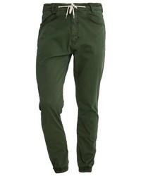 Pantalones Verde Oscuro de Makia