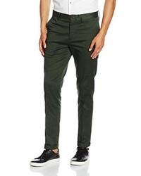 Pantalones verde oscuro de Minimum