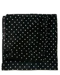 Pañuelo de bolsillo a lunares en negro y blanco de Asos