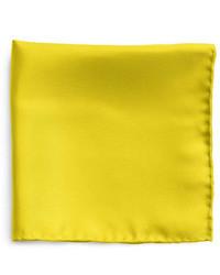 Pañuelo de bolsillo amarillo