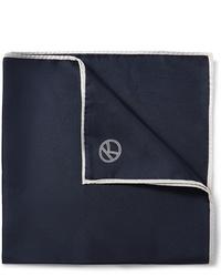 Pañuelo de bolsillo azul marino de Kingsman