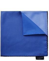 Pañuelo de bolsillo azul de Lanvin
