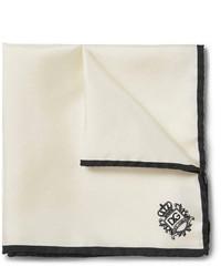Pañuelo de bolsillo blanco de Dolce & Gabbana