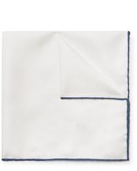 Pañuelo de bolsillo blanco de Emma Willis