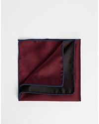 Pañuelo de bolsillo burdeos