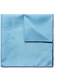 Pañuelo de bolsillo celeste de Emma Willis
