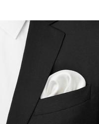 Pañuelo de bolsillo de algodón blanco de Turnbull & Asser