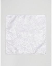Pañuelo de Bolsillo de Flores Blanco de Asos