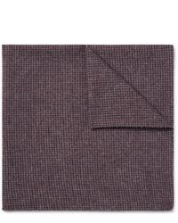 Pañuelo de bolsillo de lana burdeos de Oliver Spencer