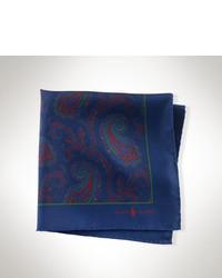 Pañuelo de bolsillo de paisley