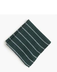 Pañuelo de bolsillo de rayas horizontales