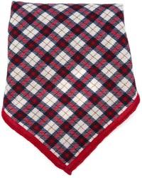 Pañuelo de bolsillo de tartán rojo de Eleventy