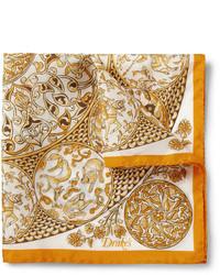 Pañuelo de bolsillo en multicolor de Drakes