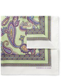 Pañuelo de bolsillo en multicolor de Turnbull & Asser