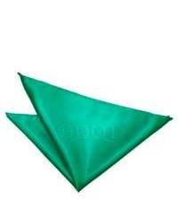 Pañuelo de bolsillo en verde azulado