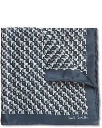 Pañuelo de bolsillo estampado azul marino de Paul Smith