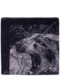 Pañuelo de bolsillo estampado en gris oscuro