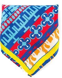 Pañuelo de bolsillo estampado en multicolor de fe-fe