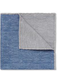 Pañuelo de bolsillo gris de Brunello Cucinelli