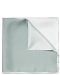 Pañuelo de bolsillo gris de Lanvin