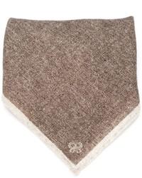 Pañuelo de bolsillo marrón de Eleventy