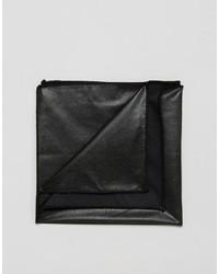 Pañuelo de bolsillo negro de Asos