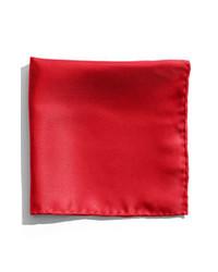 Pañuelo de bolsillo rojo