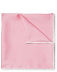 Pañuelo de bolsillo rosado de Emma Willis