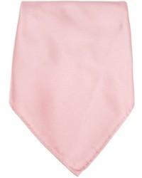 Pañuelo de bolsillo rosado de Lanvin