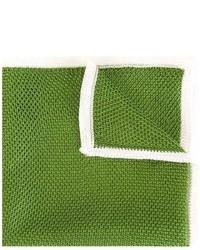 Pañuelo de bolsillo verde de Tonello
