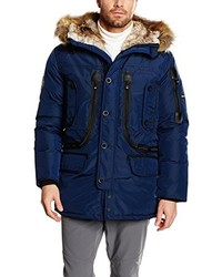Parka azul marino de Geographical Norway
