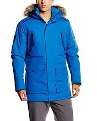 Parka azul de Jack & Jones