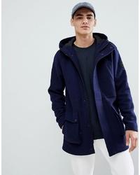 Parka de lana azul marino de ONLY & SONS