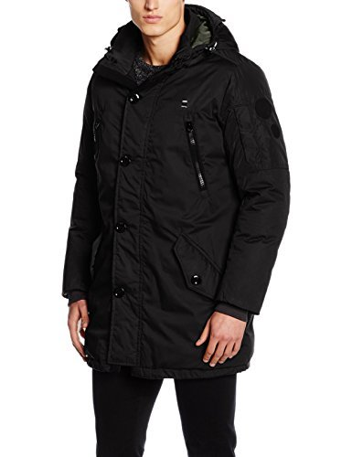 Parka negra de G-Star RAW
