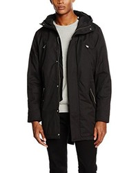 Parka Negra de Jack & Jones