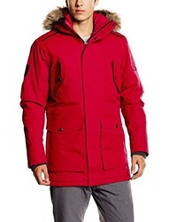 Parka roja de Jack & Jones