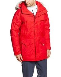 Parka roja de The North Face
