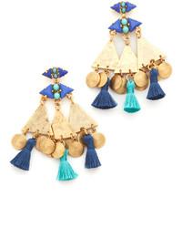 Pendientes Azules de Elizabeth Cole