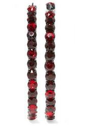 Pendientes burdeos de Givenchy