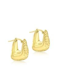 Pendientes dorados de Carissima Gold