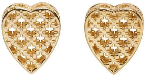 531352b83 ... Pendientes dorados de Gucci ...