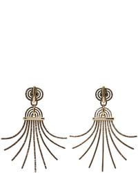 Pendientes Dorados de Lanvin