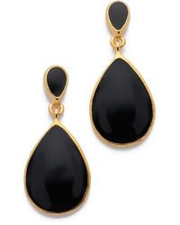 2daaea27efec Comprar unos pendientes en negro y dorado  elegir pendientes en ...