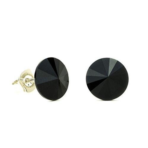 Pendientes negros de Eve's Jewelry