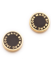 Pendientes negros de Marc by Marc Jacobs