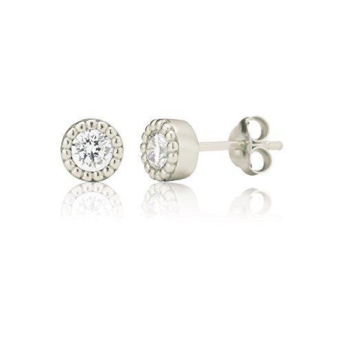 Pendientes plateados de Ingenious Jewellery
