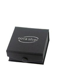 Pendientes plateados de Nova Silver