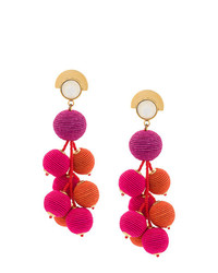 Pendientes rosa de Lizzie Fortunato Jewels