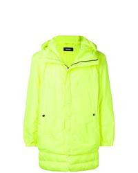 Plumífero en amarillo verdoso